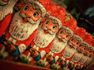 santa's favourite christmas carol, musings, thoughts poetry